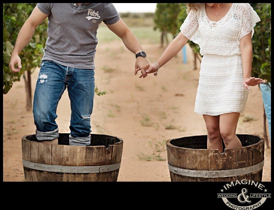 Arianna & Michael Vineyard and Desert Engagement Photos – Arizona Engagement Photography