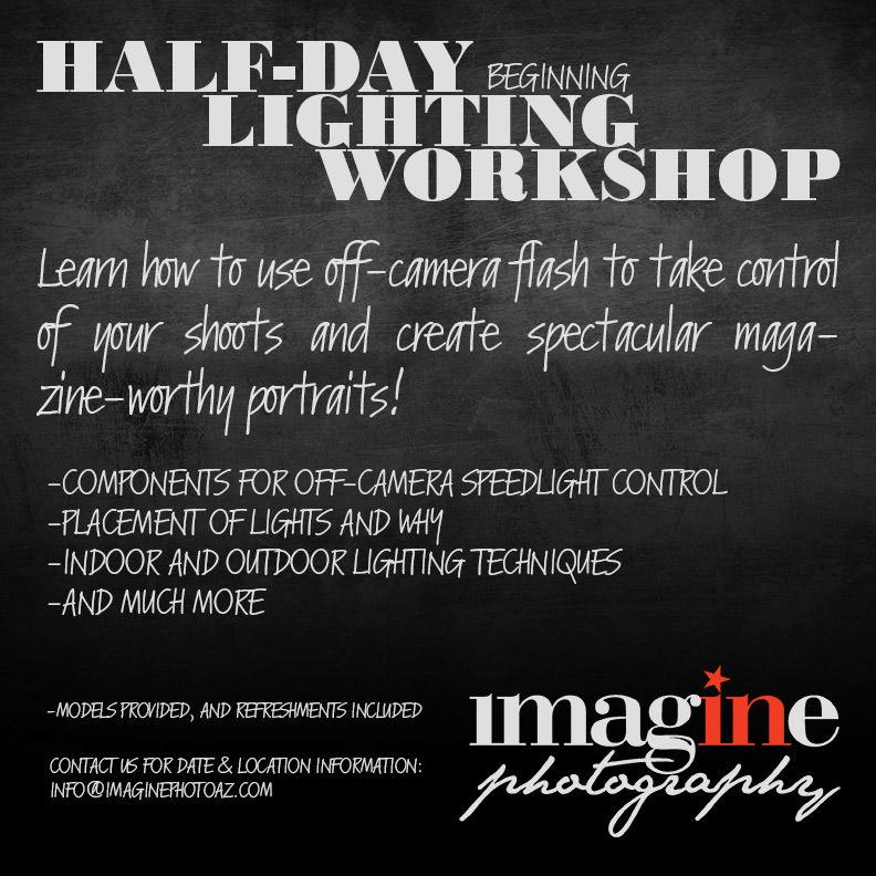 Off-Camera Lighting   Arizona Photography Workshop