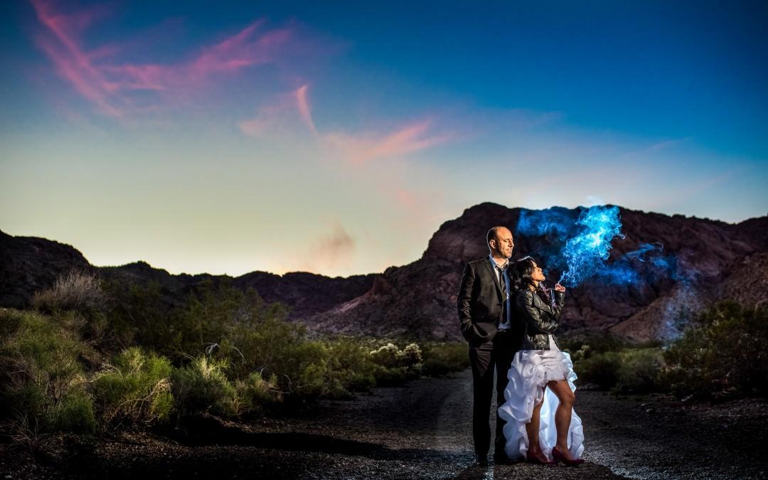 Kelly and Vince's Adventure-filled Las Vegas Elopement | Las Vegas Wedding Photographers
