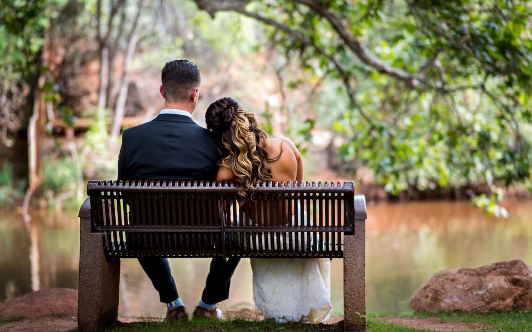 Angie & Casey's Los Abrigados Wedding | Sedona Wedding Photographers