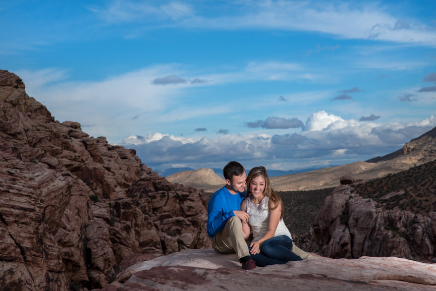 Red Rock Engagement Photography | Las Vegas Engagement Photography